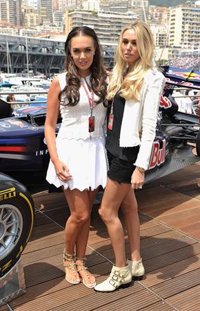 Tamara and Petra Ecclestone - Red Bull Energy Station in Monaco, May 29, 2011