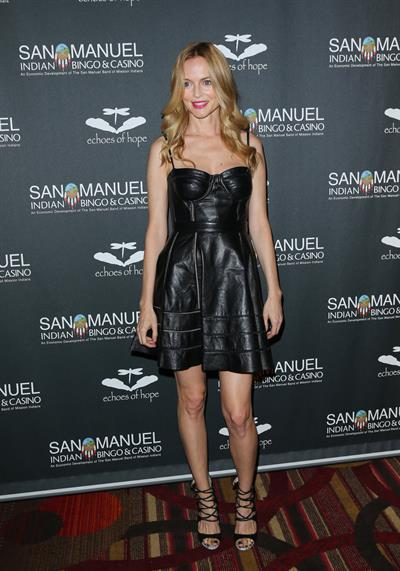 Heather Graham Echoes Of Hope's 3rd Annual Celebrity Charity Poker Tournament in LA 6/23/13