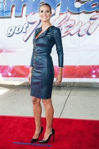 Heidi Klum attends America's Got Talent Season 8 Meet 8-5-2013