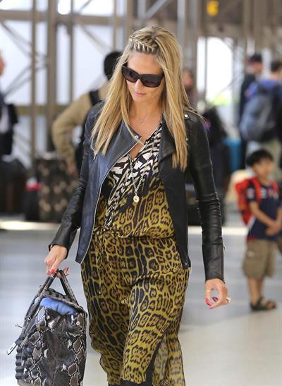 Heidi Klum Departs LA Airport in Los Angeles (May 22, 2013)