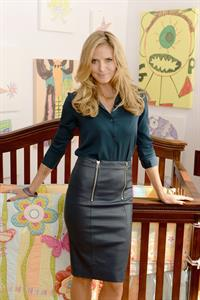 Heidi Klum Attends Shutterfly by Design hosted by Heidi Klum,Nigel Barker & Cat Cora in New York on June 19, 2013
