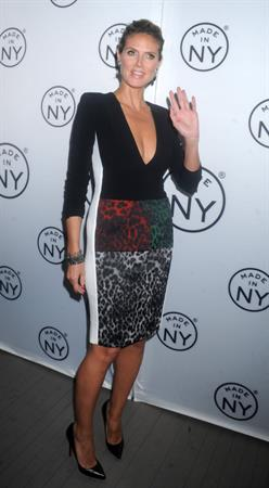 Heidi Klum 6th Annual Made in NY Awards at Gracie Mansion in New York 10.06.13