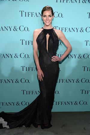 Hilary Rhoda Tiffany & Co. Celebrates Its Blue Book Ball At Rockefeller Center In New York City on April 18, 2013