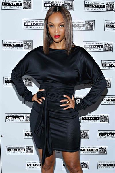Tyra Banks Lower East Side Girls Club Grand Opening Gala (November 12, 2013)