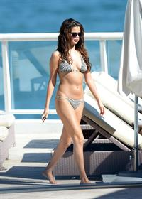 Selena Gomez Wearing a Bikini - Miami - October 28, 2013