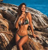 Paula Manzanal in a bikini