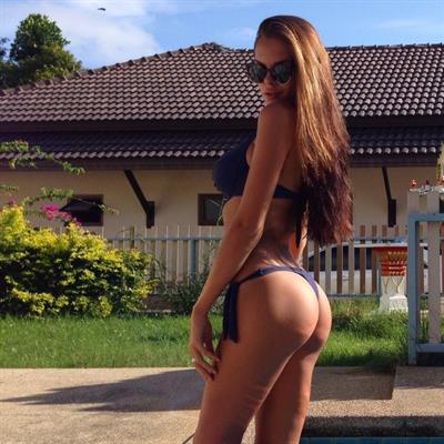 Viktoria Odintsova in a bikini - ass