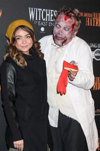 Sarah Hyland 5th Annual LA Haunted Hayride VIP Premiere Night in Los Angeles, October 10, 2013