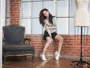 Selena Gomez – Adidas NEO Winter 2013 Shoot 4/29/13