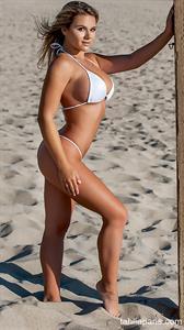 Tahlia Paris in a bikini