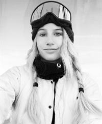 Anna Gasser taking a selfie