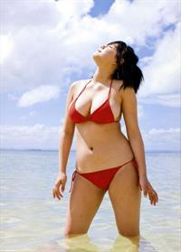 Ai Shinozaki in a bikini