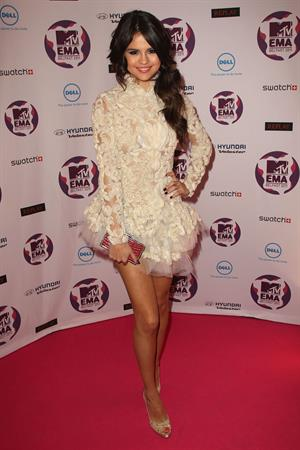 Selena Gomez - 2011 MTV European Music Awards 11/6/11