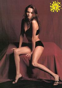 Francesca Neri in lingerie