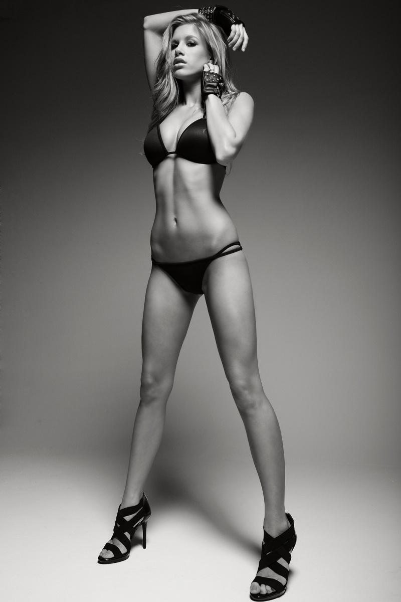 Cara Parrish in a bikini