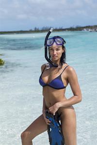 Dana Taylor in a bikini