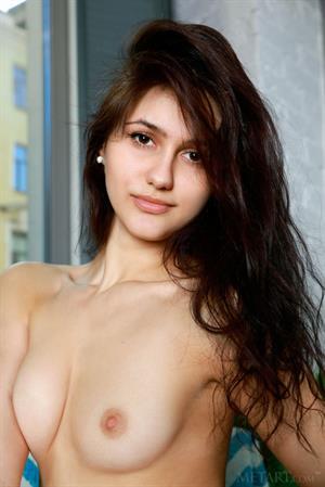 Cute Megan Elle posing nude