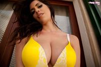 Katie Marie Cork in lingerie
