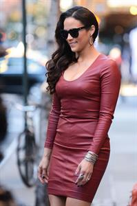 Paula Patton in New York 9/18/13