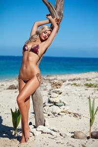 Clarissa Bowers in a bikini