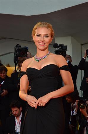 Scarlett Johansson Under The Skin Premiere in Venice 9/3/13