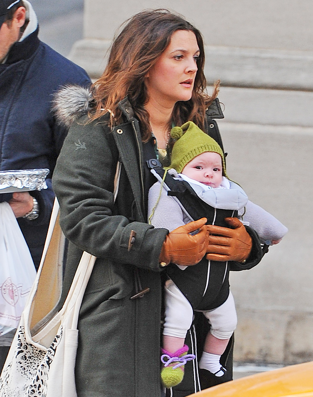 Дрю бэрримор с мужем и детьми фото