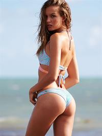 Josephine Skriver in a bikini - ass