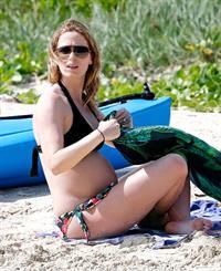 Emily Blunt in a bikini