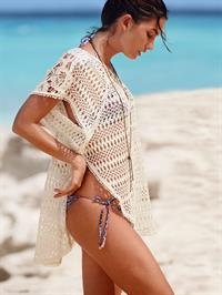 Lily Aldridge in a bikini