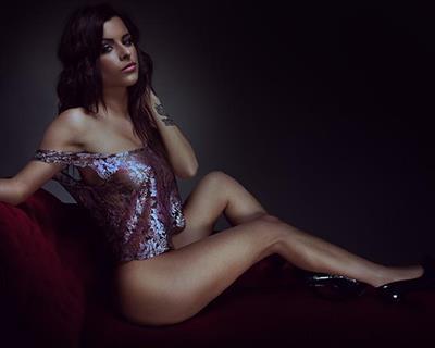 Rae in lingerie