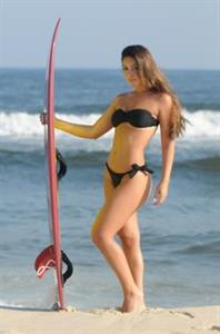 Monica Melissa in a bikini