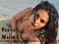 Veena Malik in a bikini