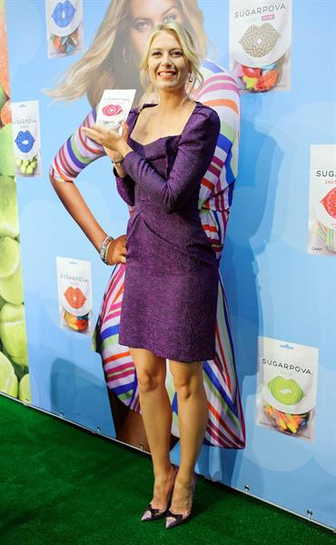 Maria Sharapova  Sugarpova Candy Launch in Moscow  April 29, 2013