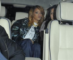 Rihanna enjoys a night out in Dublin, Ireland (22.06.2013)
