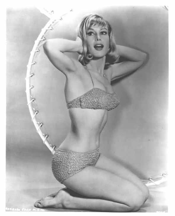 Was Barbara eden in panties that