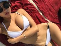 Elena Belle in a bikini