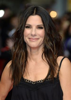 Sandra Bullock attends a gala screening of 'The Heat' at The Curzon Mayfair in London June 13, 2013