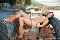 Playboy Cybergirl - Aja Marie Nude Photos & Videos at Playboy Plus! (tractor photoshoot)