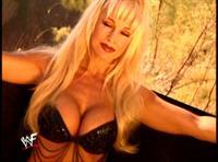 Debra Marshall in a bikini