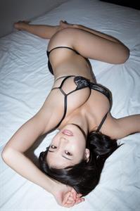 Shoko Takasaki in lingerie