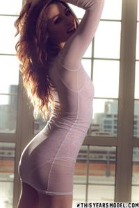 Caitlin McSwain Sheer Booby Suit