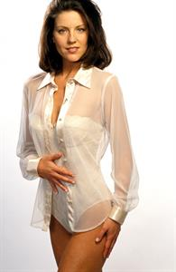Andrea Parker in lingerie