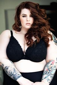Tess Holliday in lingerie