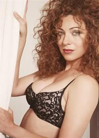 Alex Kingston in lingerie