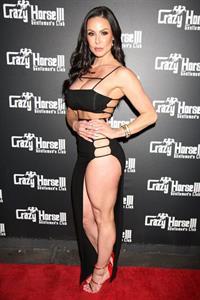 Kendra Lust Sexy Black Dress Crazy Horse III Las Vegas
