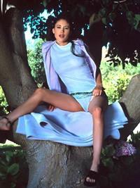 Jade Martin Hsu in lingerie