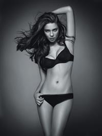 Nathalie Edenburg in lingerie