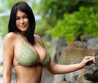 Jenna Nair in a bikini