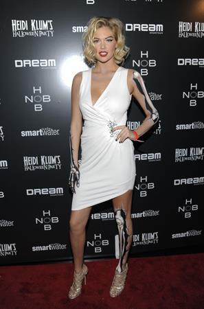 Heidi Klum's annual Halloween party in New York City - 2011