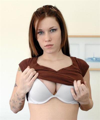 Allie Sin in lingerie